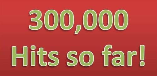 300000 Hits